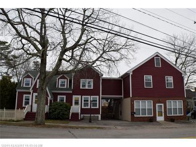 Old Orchard Beach Multi Family Home For Sale: 111 W West Grand Ave