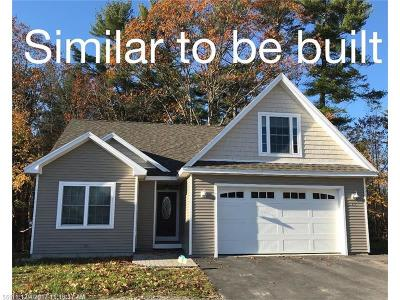 Windham Single Family Home For Sale: Lot 18 Meredith Dr