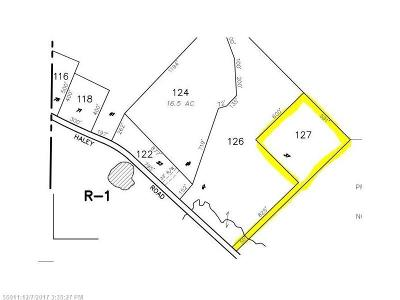 Residential Lots & Land For Sale: 37 Haley Rd