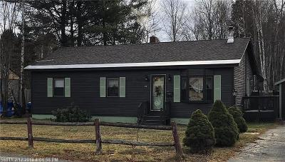 Millinocket Single Family Home For Sale: 26 Kelly Ln