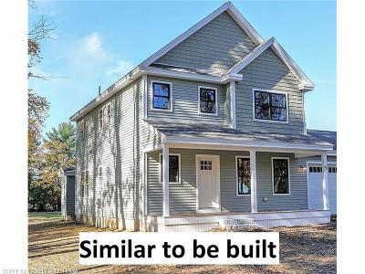 Scarborough ME Single Family Home For Sale: $478,000