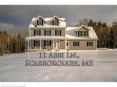 Scarborough ME Single Family Home For Sale: $499,000