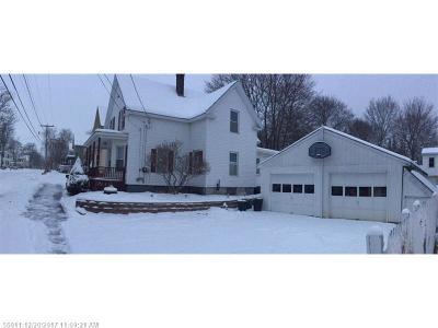 Bangor ME Single Family Home For Sale: $148,500