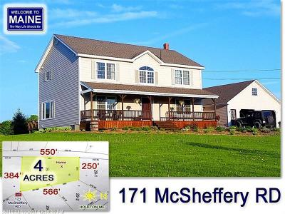 Houlton ME Single Family Home For Sale: $249,500