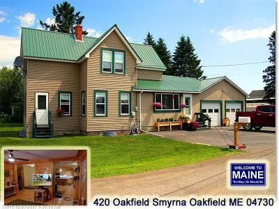 Oakfield Single Family Home For Sale: 420 Oakfield Smyrna Rd