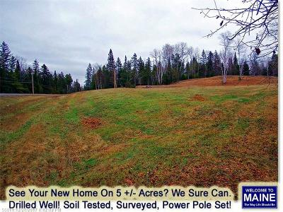Linneus Residential Lots & Land For Sale: 1292 Bangor Rd
