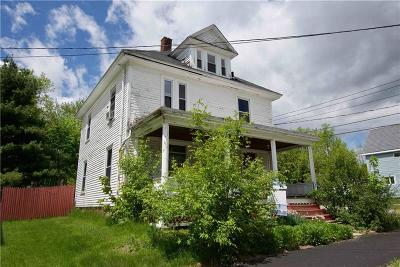 Bangor ME Single Family Home For Sale: $94,000