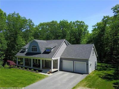 York Single Family Home For Sale: 22 Brave Boat Harbor Rd