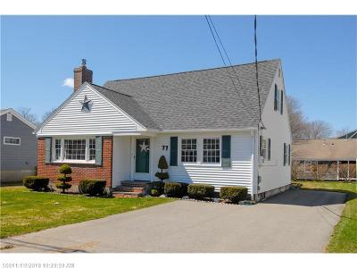 Scarborough, Cape Elizabeth, Falmouth, Yarmouth, Saco, Old Orchard Beach, Kennebunkport, Wells, Arrowsic, Kittery Single Family Home For Sale: 77 North Tibbetts