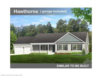 Wells Single Family Home For Sale: Lot 21 Buttonbush Ln