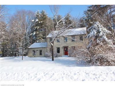 Scarborough ME Single Family Home For Sale: $285,000