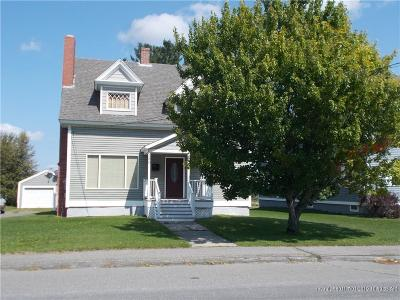 Fort Fairfield Single Family Home For Sale: 180 Main St