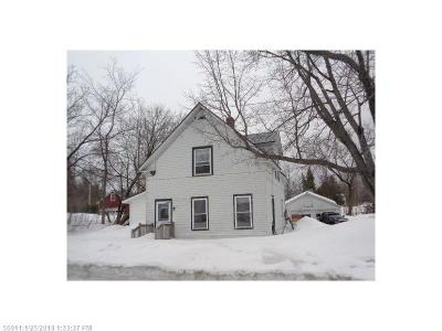 Presque Isle Single Family Home For Sale: 52 Church St