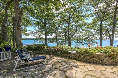 Scarborough, Cape Elizabeth, Falmouth, Yarmouth, Saco, Old Orchard Beach, Kennebunkport, Wells, Arrowsic, Kittery Single Family Home For Sale: 160 Spruce Point Rd