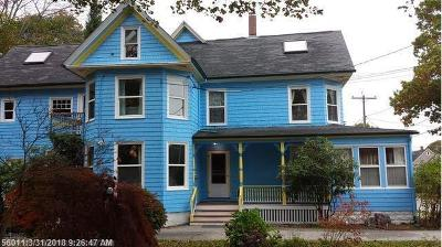 South Portland Single Family Home For Sale: 63 Willard St