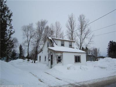 Presque Isle ME Single Family Home For Sale: $22,500