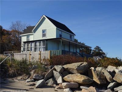 Single Family Home For Sale: 153 Hills Beach Rd