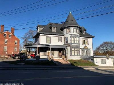 Bangor Multi Family Home For Sale: 145 Union St