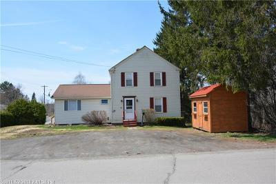 Houlton ME Single Family Home For Sale: $94,900