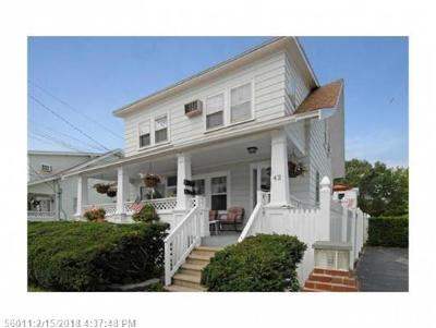 Old Orchard Beach ME Multi Family Home For Sale: $425,000