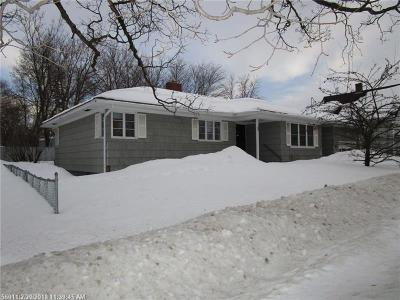 Presque Isle Single Family Home For Sale: 9 Epworth St