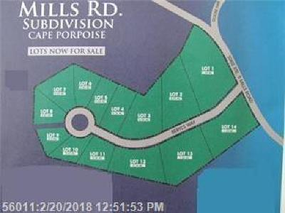 York County, Cumberland County Residential Lots & Land For Sale: 98-#6 Mills Rd