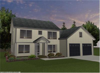 York County, Cumberland County Single Family Home For Sale: Lot #2 Autumn View Ln