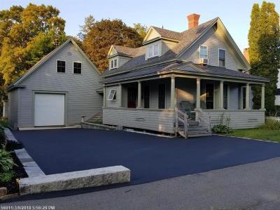 Bangor Single Family Home For Sale: 178 Cedar