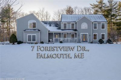 Falmouth Single Family Home For Sale: 7 Forest View