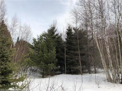 Prentiss Twp T7 R3 Nbpp Residential Lots & Land For Sale: 100 Tar Ridge Rd