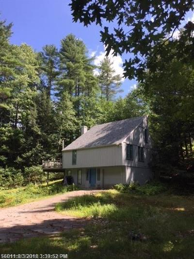 Waterboro Single Family Home For Sale: 157 Old Portland Rd