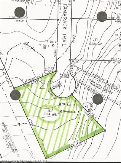 Bangor Residential Lots & Land For Sale: 323 Tamarack Trl