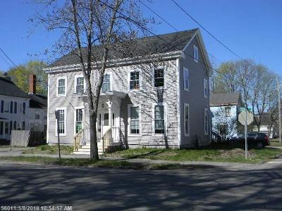 Bangor Multi Family Home For Sale: 174 Essex St