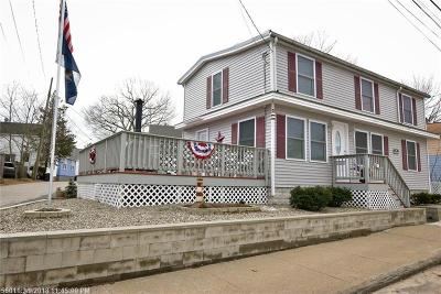 Old Orchard Beach ME Single Family Home For Sale: $249,900
