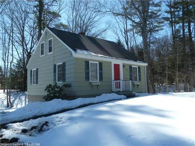 Falmouth Single Family Home For Sale: 73 Middle Rd