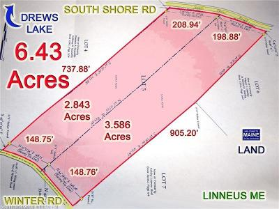 Linneus Residential Lots & Land For Sale: Lot 5 South Shore Rd