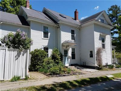 Bangor Single Family Home For Sale: 70 Congress St