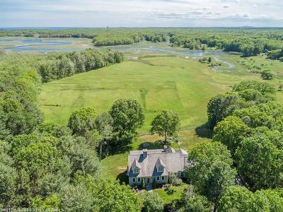 Kennebunkport Single Family Home For Sale: 15 Abenaki Way