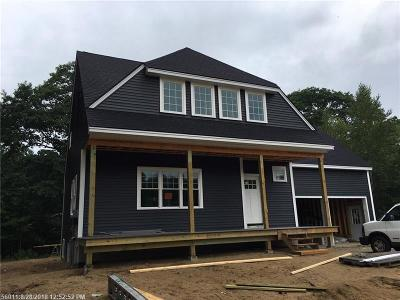 Kennebunk Single Family Home For Sale: Lot 5 Chestnut Ln