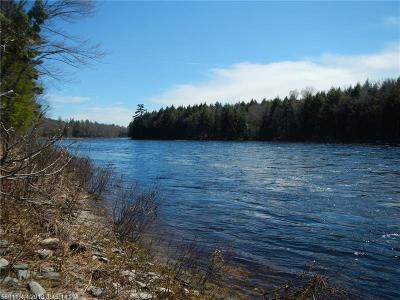 Mattawamkeag Residential Lots & Land For Sale: River Road