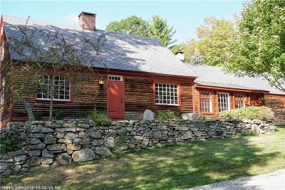 Waterboro Single Family Home For Sale: 37 Andrews Ln