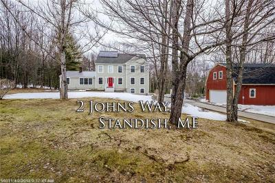 Standish Single Family Home For Sale: 2 John's Way