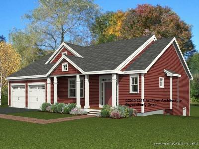 Kittery Single Family Home For Sale: Lot 13 Seward Farm Ln