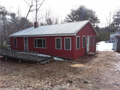 Waterboro Single Family Home For Sale: 7 N Silas Brown Rd