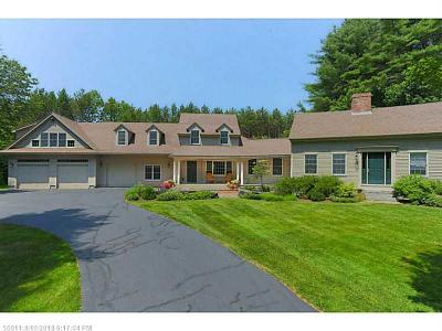 Falmouth Single Family Home For Sale: 138 Woodville Rd