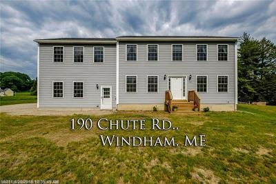 Windham Single Family Home For Sale: 190 Chute Rd