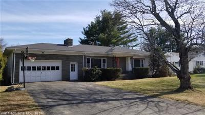 Bangor Single Family Home For Sale: 383 Grandview Ave