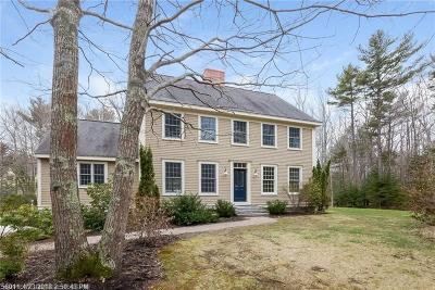 Kennebunkport Single Family Home For Sale: 5 Bailey Court Rd