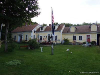 Single Family Home For Sale: 668 East Sangerville Rd