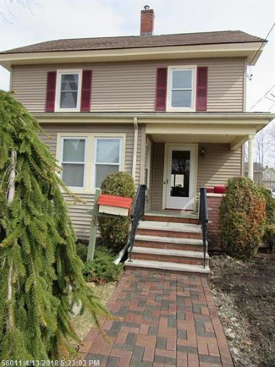 Bangor Single Family Home For Sale: 33 Thirteenth St
